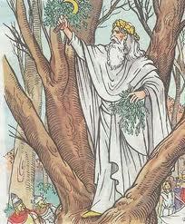 Druidisme - Hallowen - rituels sacrés - magie - monde des vivants et des morts - Transformation - poésie - Albert Samain dans Ecrits