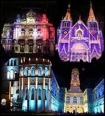Lyon - Fête des Lumières - dans Education