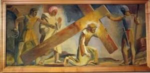 aaaaaaaaaaaaaaaaaaaajesuscroixtableau-300x146 Carême - Passion du Christ - Veillée Pascale - Religion dans Ecrits