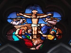 PASSION ?  du Christ dans Artiste aaaaaaaaaaaaaaaaaaaajesuscroixvitrail-300x225