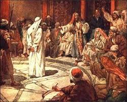 Carême - Passion du Christ - Reniement de St Pierre - Ponce-Pilate - Procès de Jésus - Religion dans Ecrits