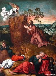 Carême - Jésus au jardin des oliviers - Trahison de Judas - Religion - Passion du Christ dans Education