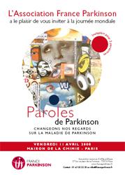 aaaaaaaaaaaaaaaaaaaaafficheparkinson Maladie de Parkinson - Santé publique - Médecine et recherches dans Education