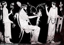 Dionysos - Dieux grecs - Mythologie grecque - Patron des vignerons - Bacchanales - Fêtes orgiaques dans Ecrits