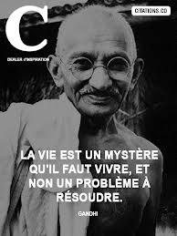 Gandhi - Mahatma - Non violence - Père de l'Inde - Grands penseurs - dans FILMS